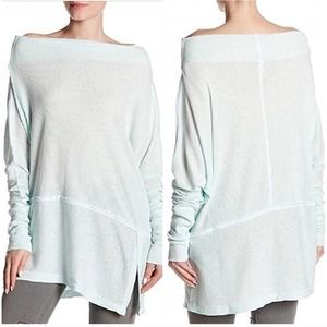 Free People Womens Londontown Thermal Top Small